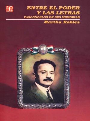 cover image of Entre el poder y las letras