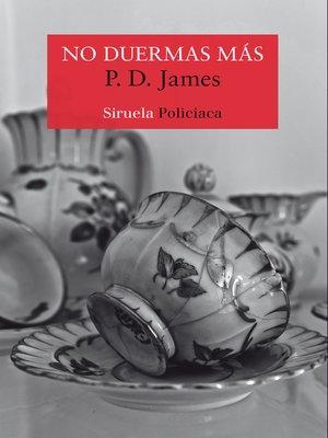 cover image of No duermas más