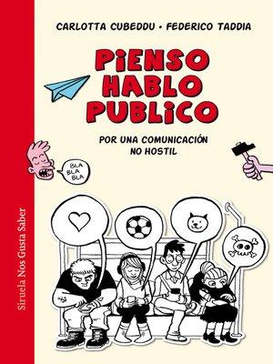 cover image of Pienso, hablo, publico