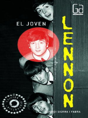 cover image of El joven Lennon