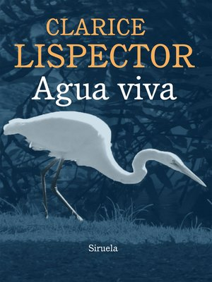 cover image of Agua viva