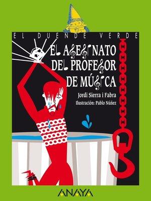 cover image of El asesinato del profesor de música