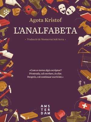 cover image of L'analfabeta