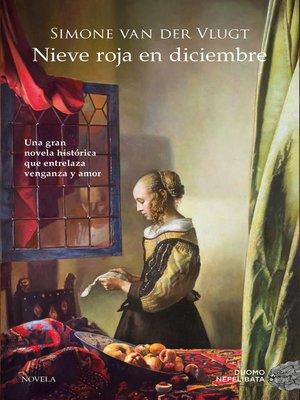 cover image of Nieve roja en diciembre