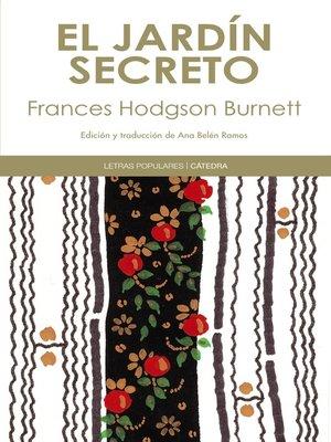 cover image of El jardín secreto