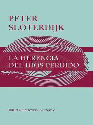 cover image of La herencia del Dios perdido