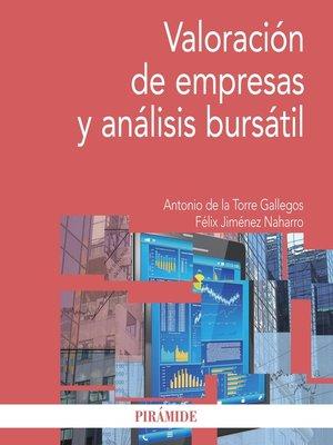 cover image of Valoración de empresas y análisis bursátil