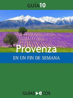 cover image of Provenza. En un fin de semana