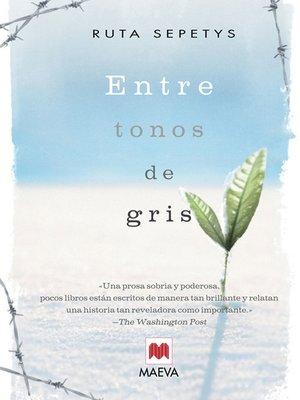 cover image of Entre tonos de gris
