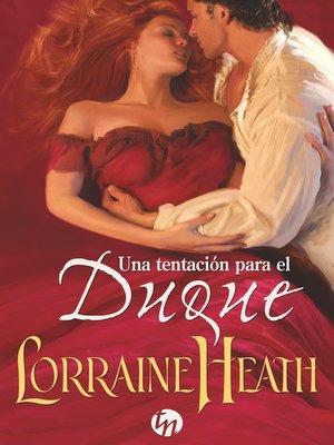cover image of Una tentación para el duque