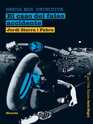 cover image of El caso del falso accidente. Berta Mir detective