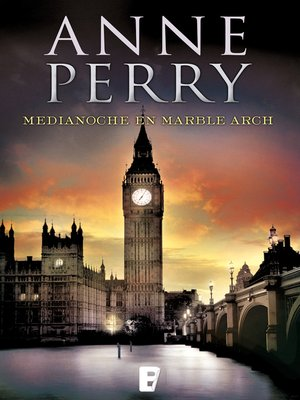 cover image of Medianoche en Marble Arch (Inspector Thomas Pitt 28)