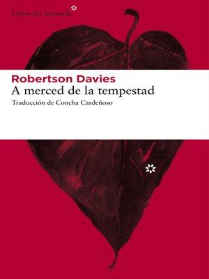 cover image of A merced de la tempestad