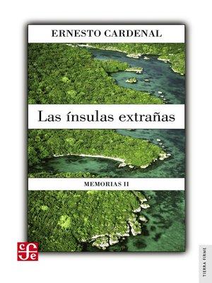 cover image of La ínsulas extrañas