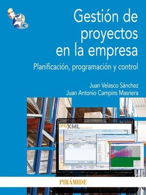 cover image of Gestión de proyectos en la empresa