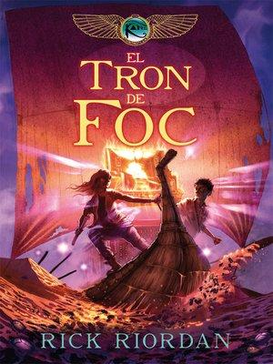 cover image of El tron de foc