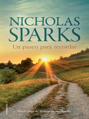 cover image of Un paseo para recordar