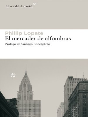 cover image of El mercader de alfombras