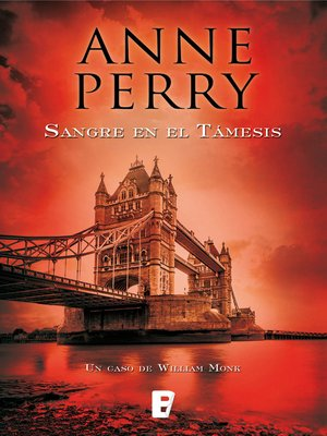 cover image of Sangre en el Támesis (Detective William Monk 20)