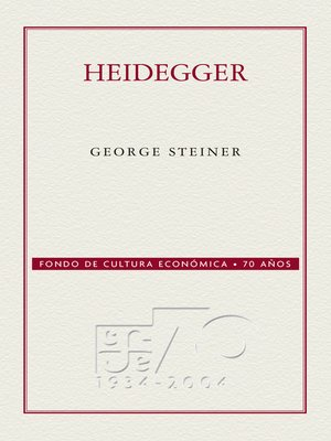 cover image of Heidegger