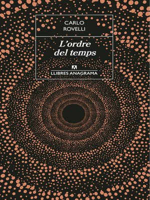 cover image of L'ordre del temps