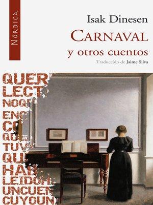 cover image of Carnaval y otros cuentos