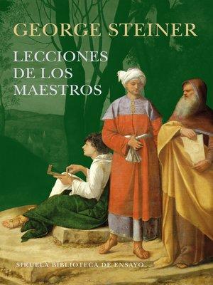 cover image of Lecciones de los Maestros