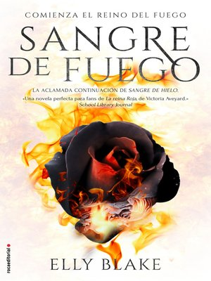 cover image of Sangre de fuego
