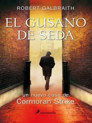 cover image of El gusano de seda