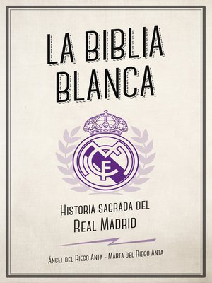 cover image of La biblia blanca