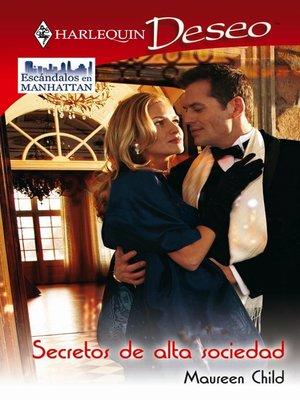 cover image of Secretos de alta sociedad