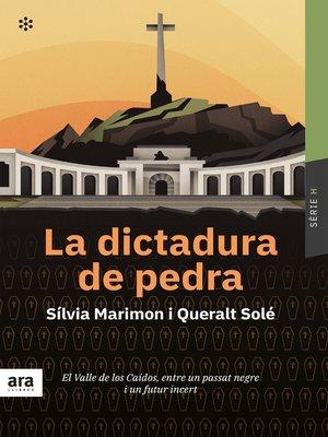 cover image of La dictadura de pedra