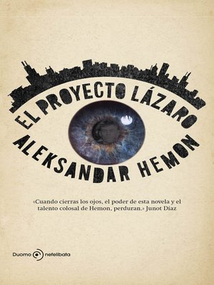 cover image of El proyecto Lázaro