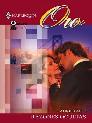 cover image of Razones ocultas