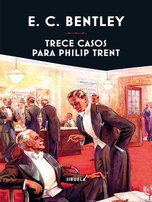 cover image of Trece casos para Philip Trent