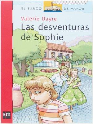 cover image of Las desventuras de Sophie