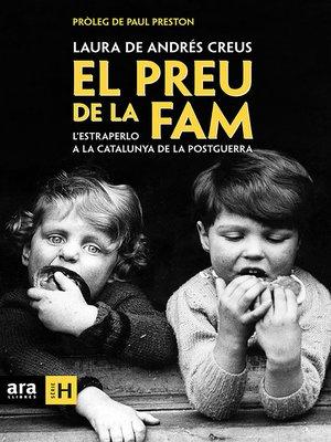 cover image of El preu de la fam