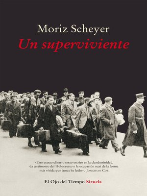 cover image of Un superviviente