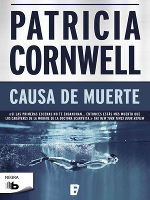 cover image of Causa de muerte (Doctora Kay Scarpetta 7)