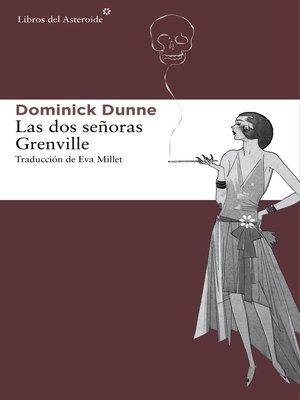 cover image of Las dos señoras Grenville