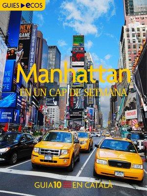 cover image of Manhattan. En un cap de setmana