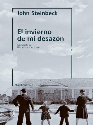 cover image of El invierno de mi desazón
