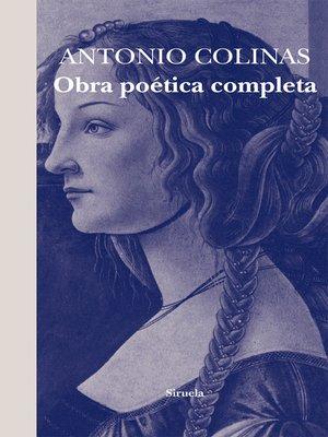 cover image of Obra poética completa