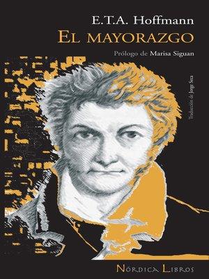 cover image of El mayorazgo