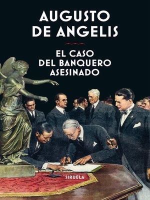 cover image of El caso del banquero asesinado