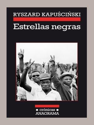 cover image of Estrellas negras