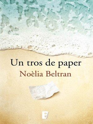 cover image of Un tros de paper