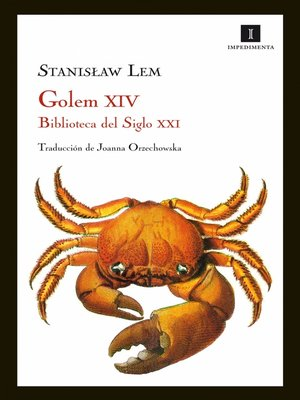 cover image of Golem XIV