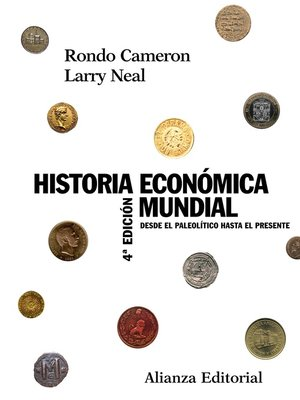 cover image of Historia económica mundial