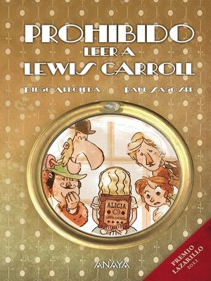 cover image of Prohibido leer a Lewis Carroll